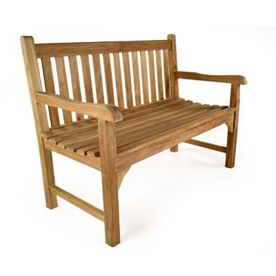 Warwick 2 Seat Grade A Teak Bench