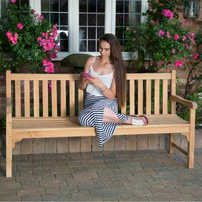Warwick 4 Seat Grade A Teak Bench