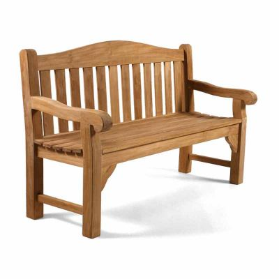 Oxford 3 Seat Grade A Teak Bench