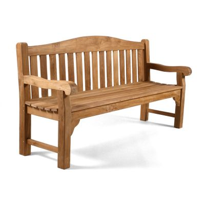 Oxford 4 Seat Grade A Teak Bench