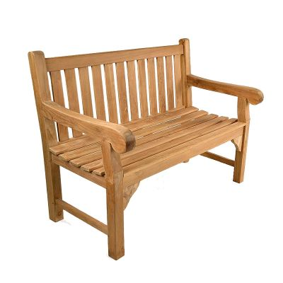 Queensbury 2 Seat Grade A Teak Bench