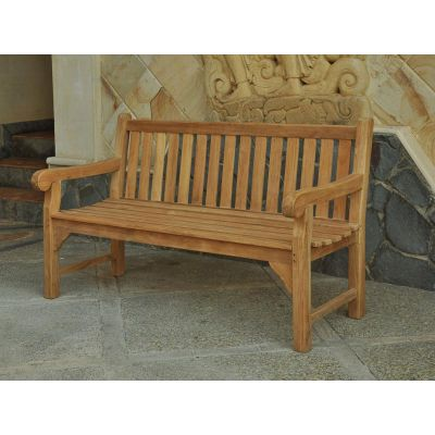 Queensbury 3 Seat Grade A Teak Bench