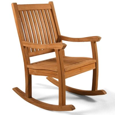 Grade A Teak Rocking Arm Chair