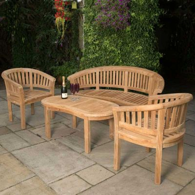 Windsor Grade A Teak Set