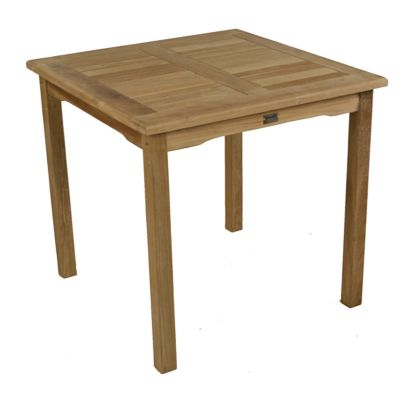 Grade A Teak Square Bistro Table