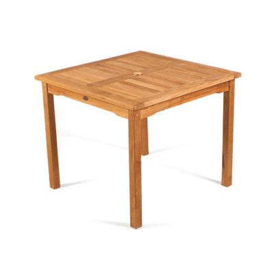 Benson Teak Square Dining Table