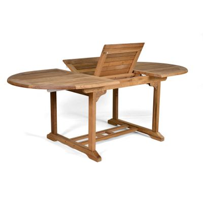 King John Grade A Teak Large Dining Table