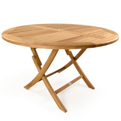 Willoughby Grade A Teak Round Folding Dining Table