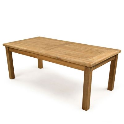 Sutton Grade A Teak Rectangular Coffee Table