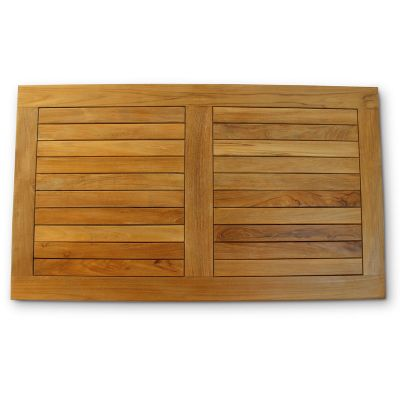 Grade A Teak Rectangular Teak Table Top