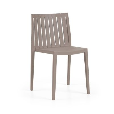 Elite Side Chair Turtle Dove Taupe
